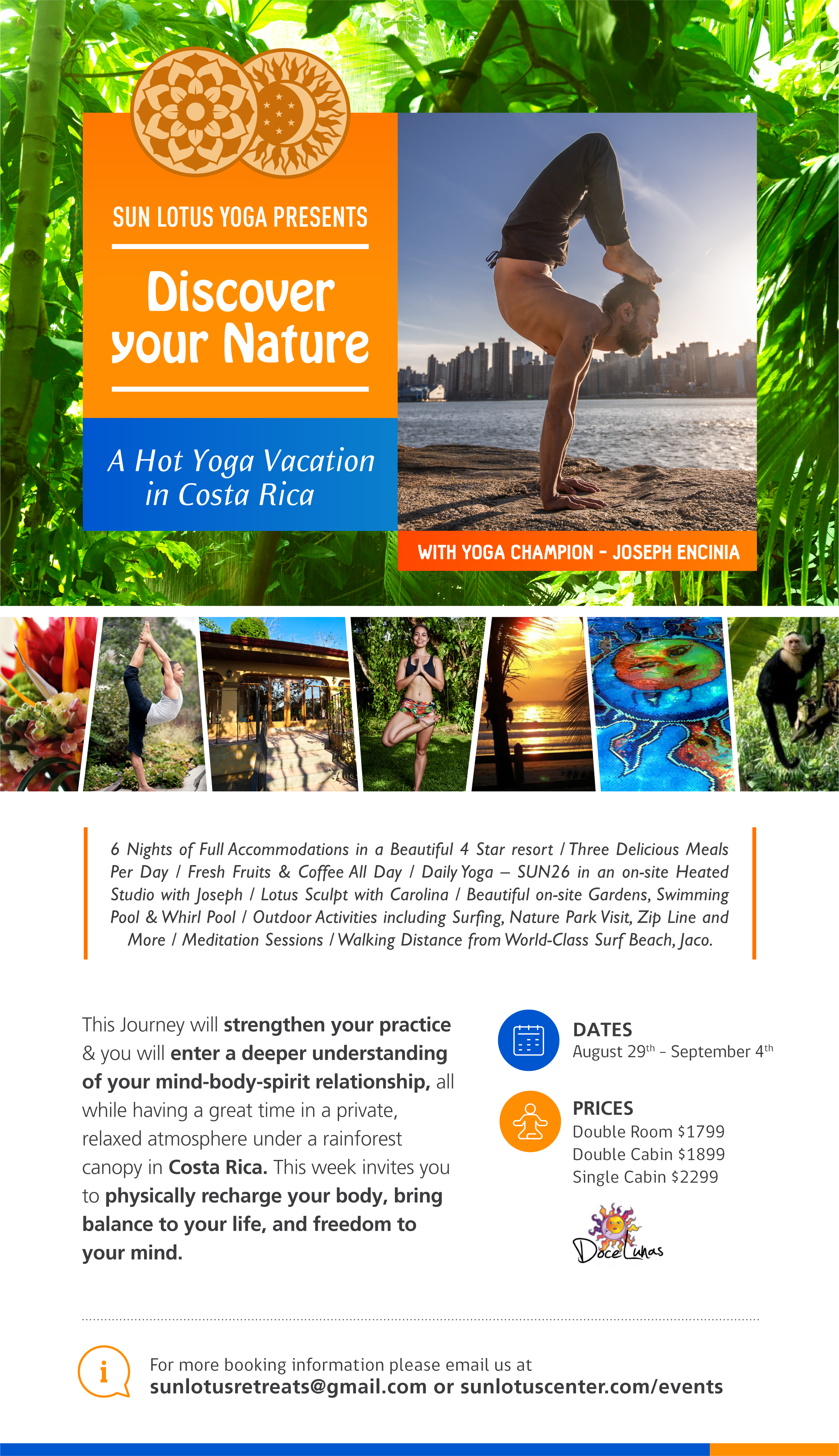 Discover Your Nature, A Hot Yoga Retreat in Costa Rica